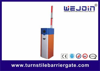 چین White Orange Car Park Barrier Arms Automatic Vehicle Barriers CE ISO Approval کارخانه