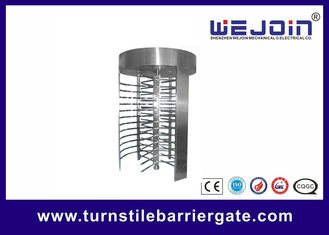 Electronic Pedestrian security Full Height Turnstile Gate for Double Way Passing in Manual release
