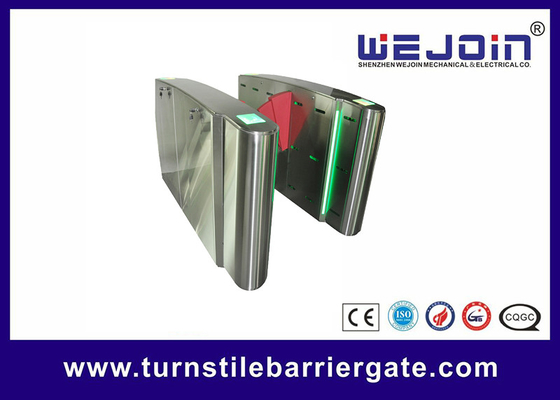 QR Code Access Access Flap Barrier Gate System Shaft Drive Shaft برای مترو