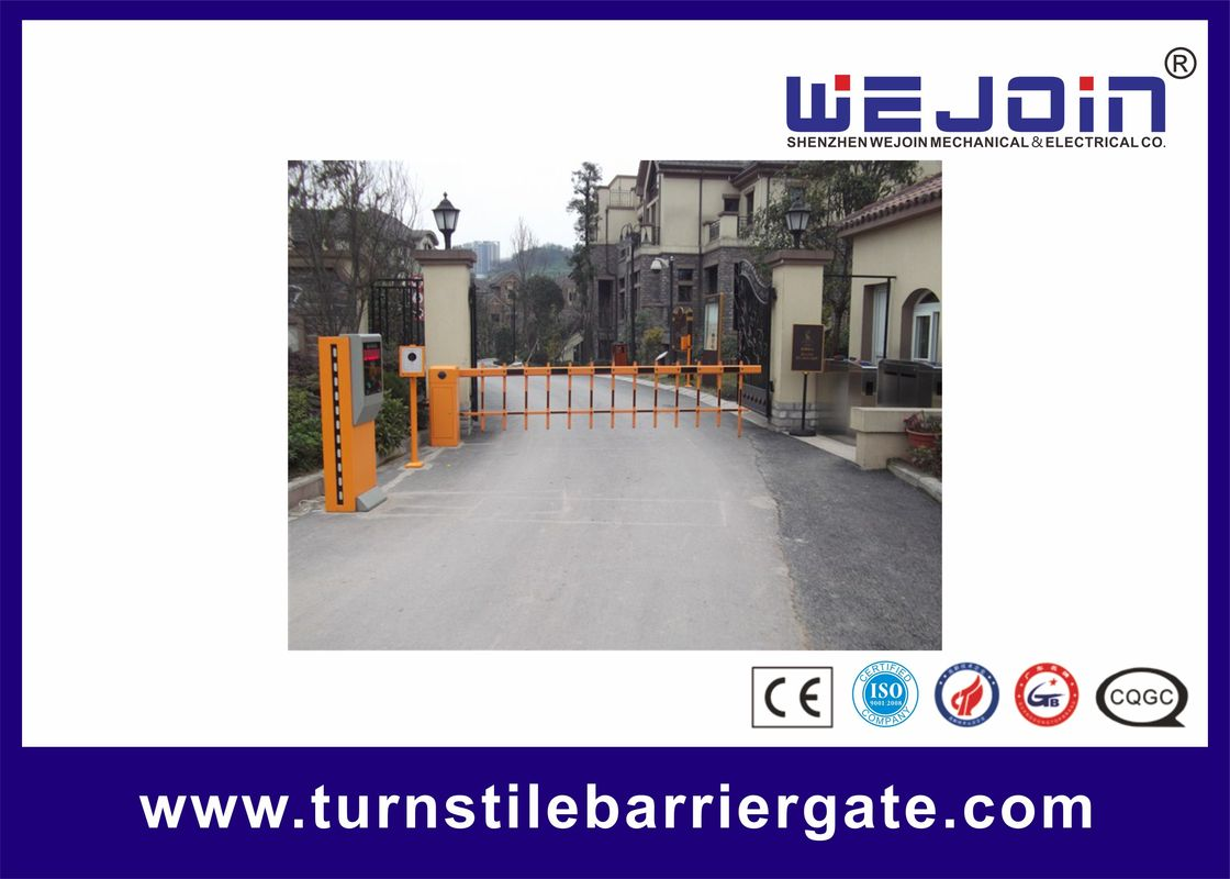 Professional Traffic / Parking Barrier Gate Driveway Barriers 220V 110V تامین کننده