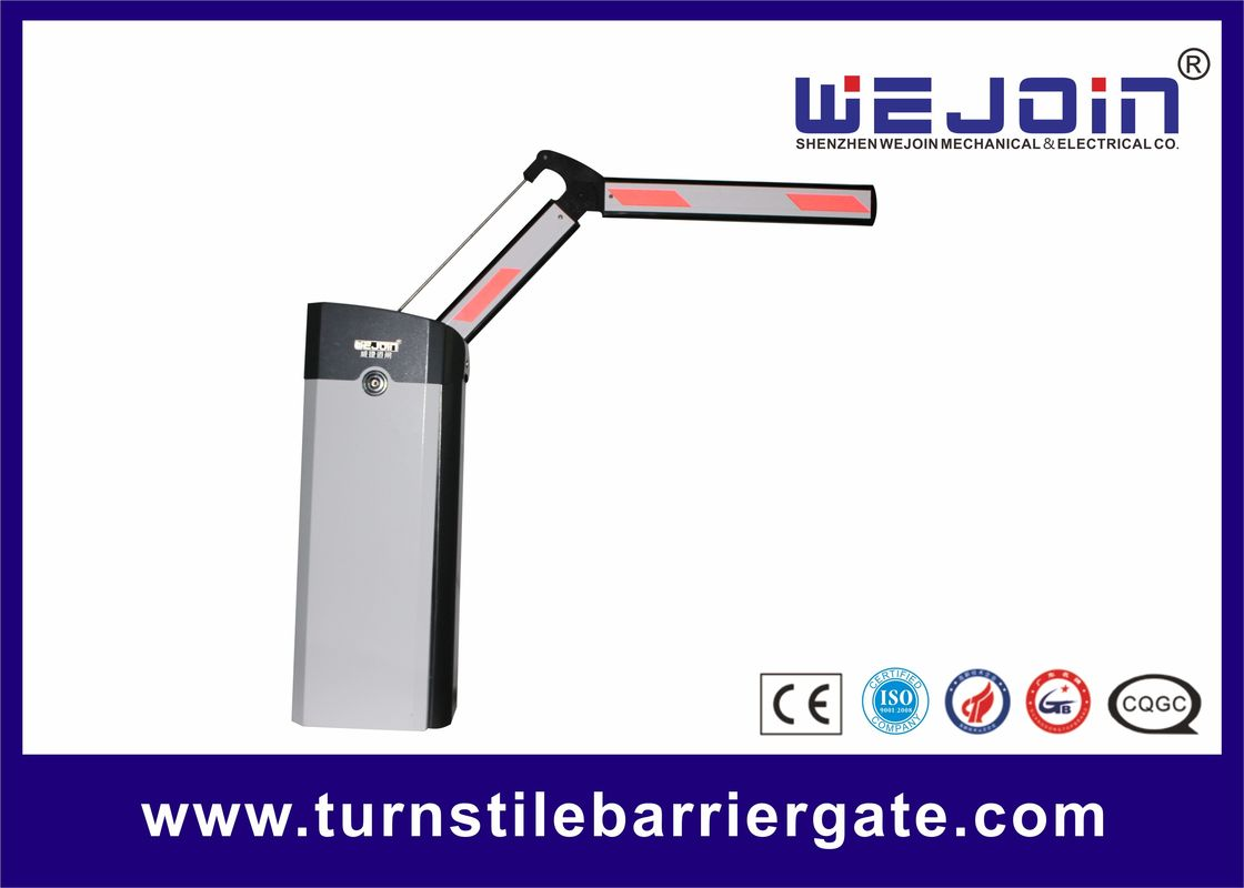 High Speed Toll Gate With 90 DegreeFolding Arm For Parking System and Bus station تامین کننده