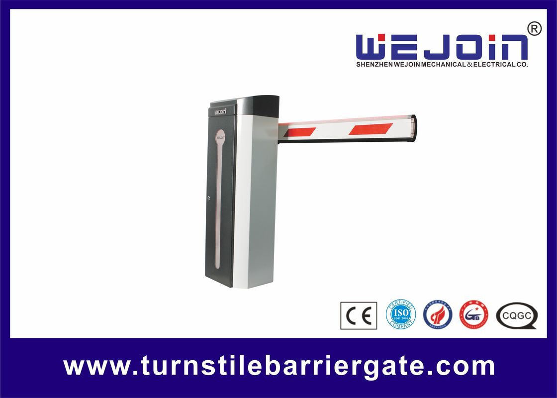 Stainless Steel Automatic Parking Barrier with LED Light Boom For Office Building تامین کننده