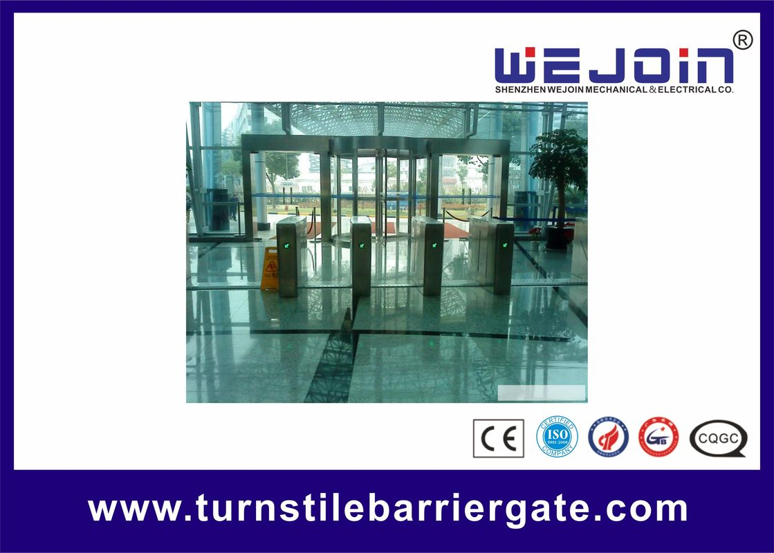Intelligent Flap Barrier with 304 Stainless Steel Housing and Fast Speed تامین کننده