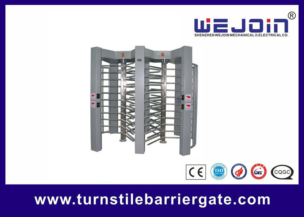201 / 304 Stainless Steel Full Height Turnstile With Digital Transmission تامین کننده