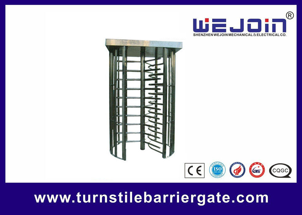 Full Height Turnstile for pedestrian passing and Compatible With IC, ID,  Magcard, Bar code تامین کننده