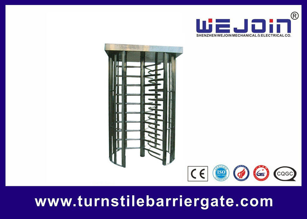 80W Security Entrance Gate Full Height Turnstile pedestrian barrier تامین کننده
