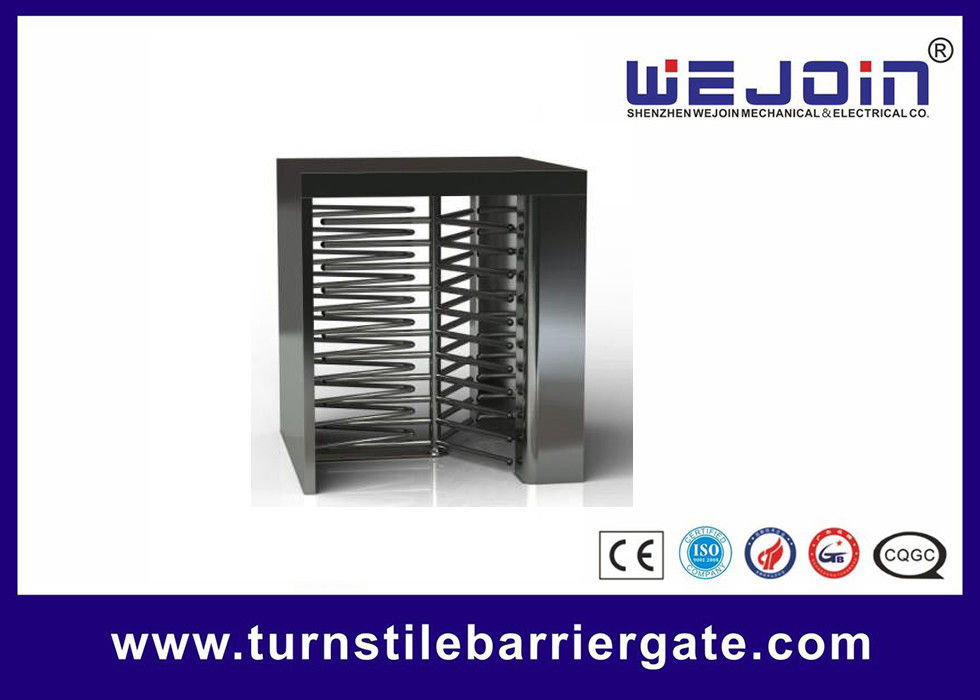 Swipe Card Full height Access Control Turnstile Gate Safety System 50HZ / 60HZ تامین کننده