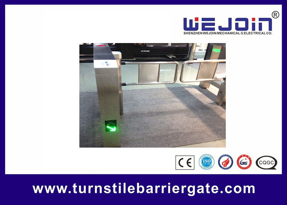 Emergency  Interface  Swing Barrier Gate 110v / 220v For Intelligent Mangement تامین کننده