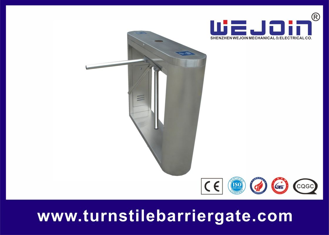درب اتوماتیک / بیرونی Tripod Turnstile Gate Automatic Security Smart Metro Application تامین کننده